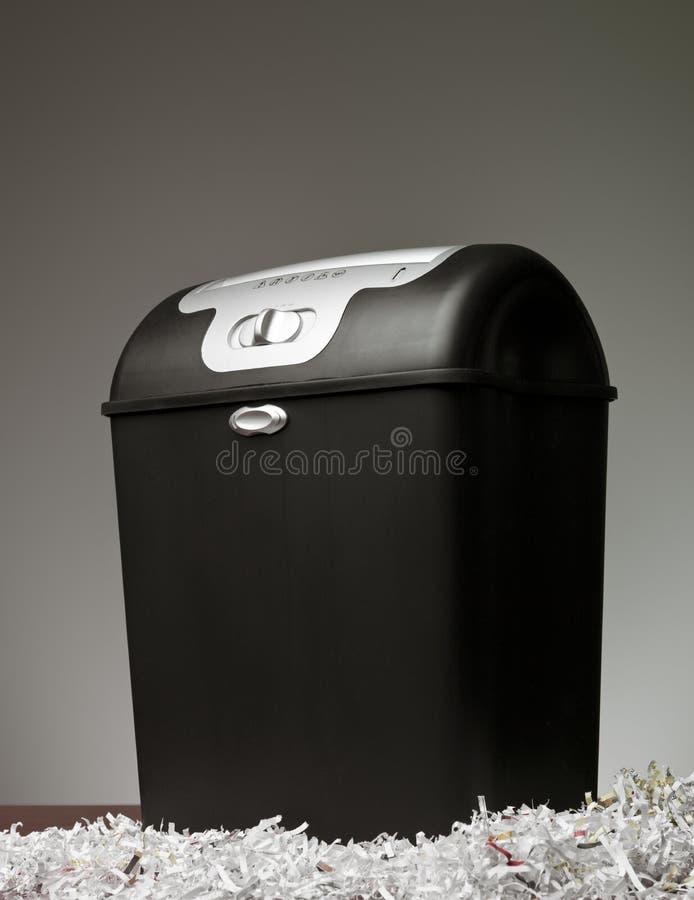 De Ontvezelmachine van het document stock afbeeldingen