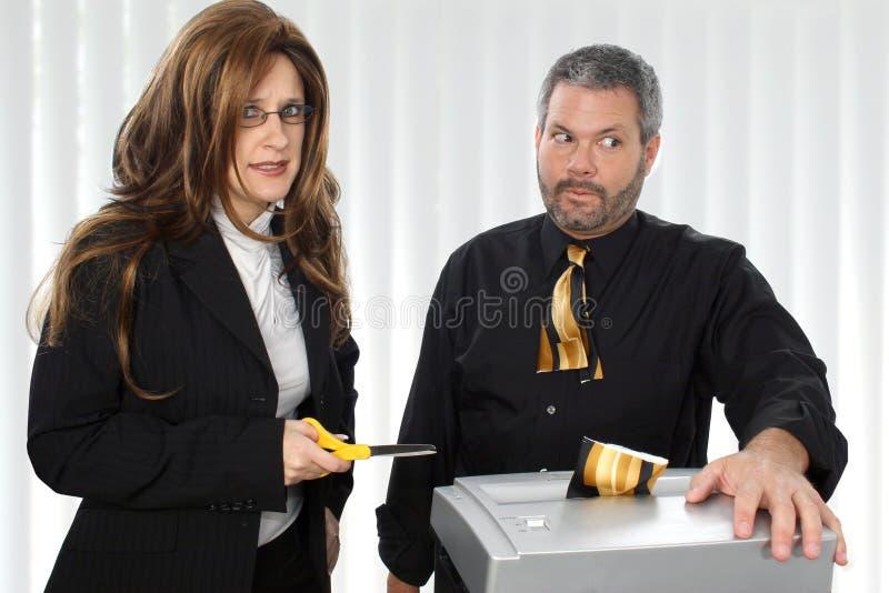 De Ontvezelmachine van het document royalty-vrije stock foto