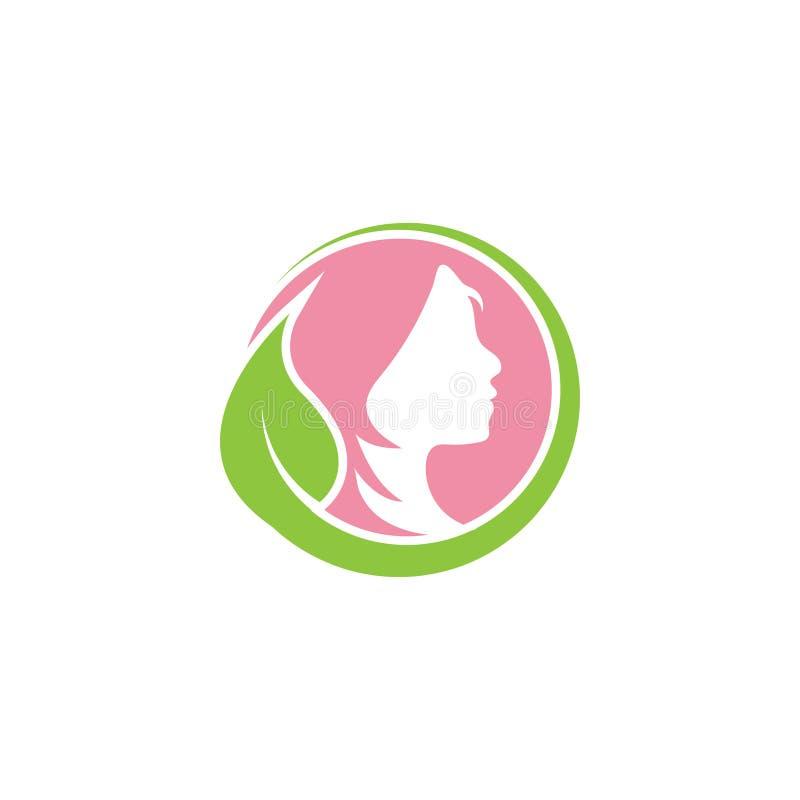 De ontwerpsjabloon vectorillustratie van het vrouwen grafische pictogram royalty-vrije illustratie