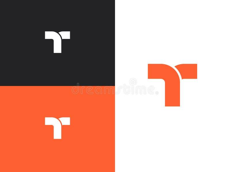 De ontwerpsjabloonelementen van het brievent embleem, conceptenpictogram stock illustratie