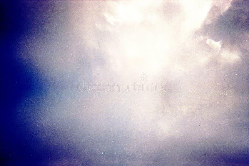 De ontworpen achtergrond van de filmtextuur stock foto's