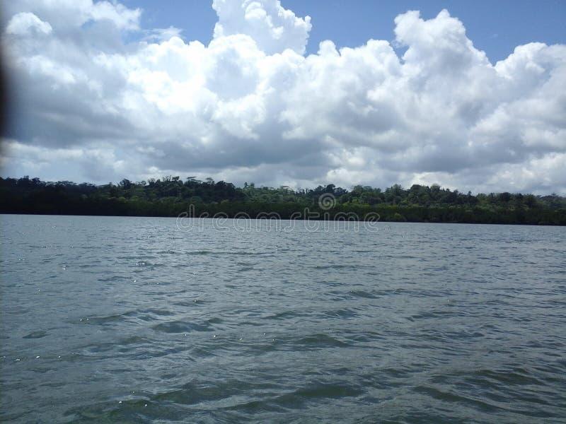 De onuitgegeven foto's van Manus Island Scenery stock afbeeldingen