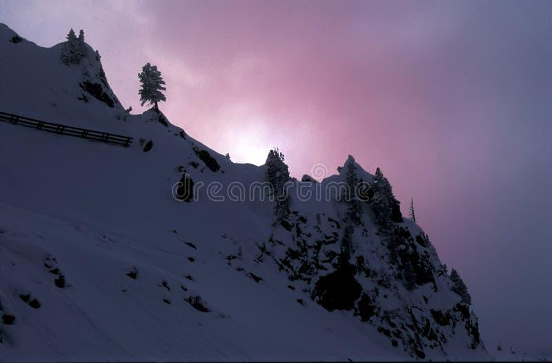 De Onweren Van De Sneeuw Royalty-vrije Stock Foto