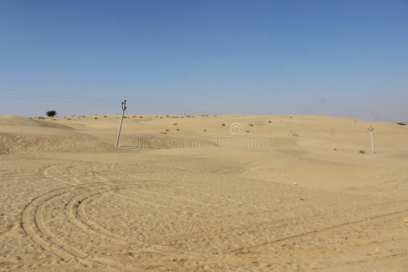 De oorlog van het woestijnland royalty-vrije stock foto