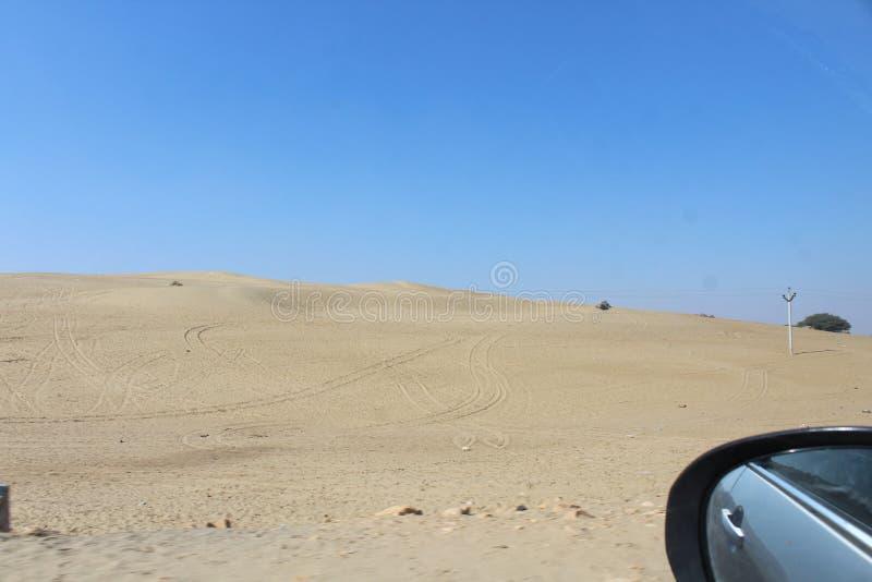 De oorlog van het woestijnland stock fotografie
