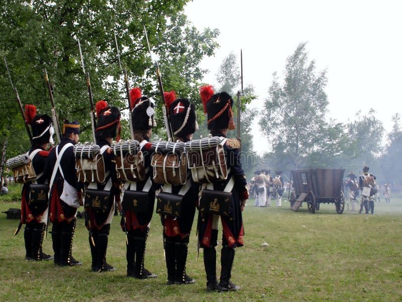 De oorlog van Napoleon stock afbeelding