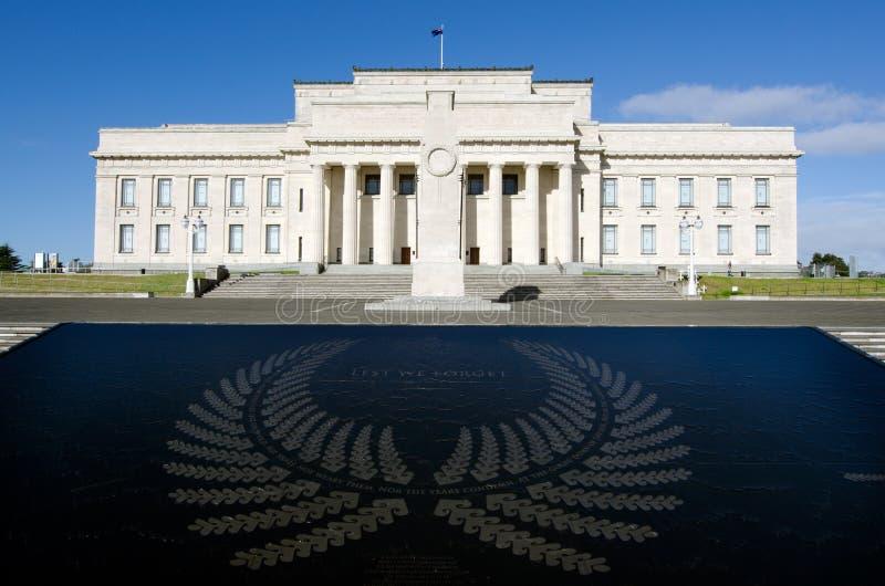 De Oorlogs Herdenkingsmuseum van Auckland stock foto