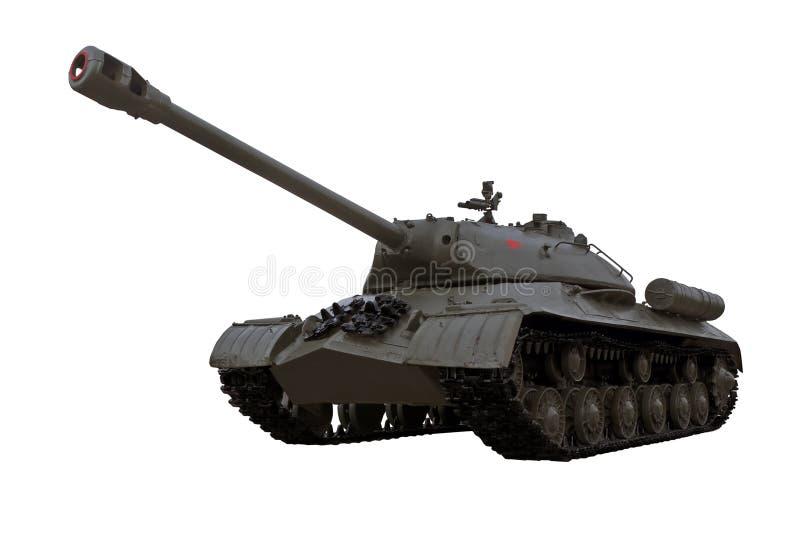 De oorlogs sovjet zware tank IS3 Iosif Stalin van de wereld stock foto's