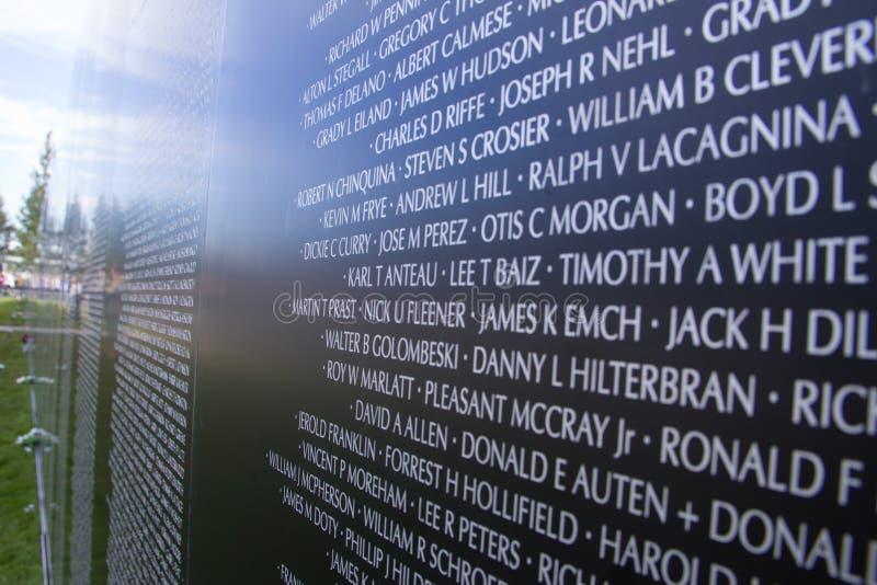 De Oorlogsgedenkteken van Vietnam royalty-vrije stock foto's