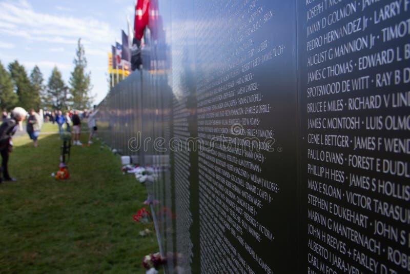 De Oorlogsgedenkteken van Vietnam royalty-vrije stock foto