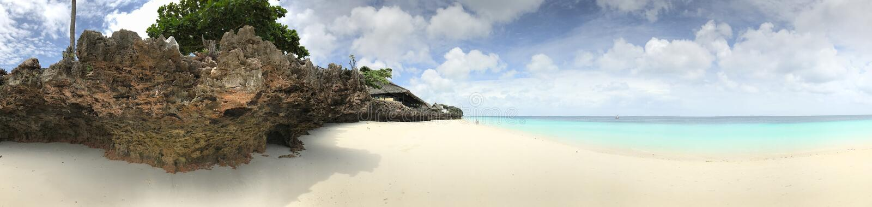De Oorspronkelijke Wateren van Zanzibar royalty-vrije stock afbeelding