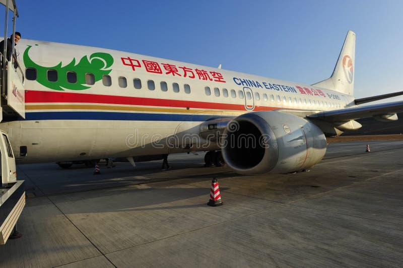 De Oostelijke Luchtvaartlijn van China stock foto