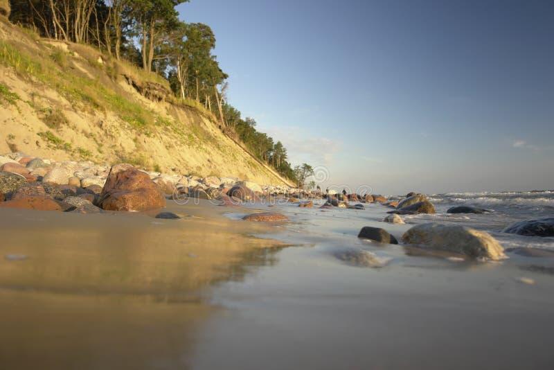 De Oostzee royalty-vrije stock afbeelding