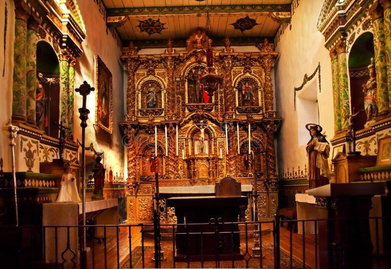De Opdracht San Juan Capistrano van de Kapel van Serra stock foto's