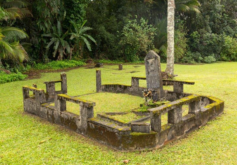 De Opdrachtkerk van Waiolihuiia in Hanalei Kauai royalty-vrije stock fotografie