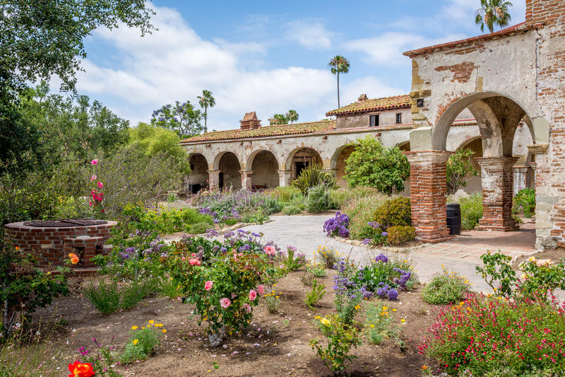 De Opdrachttuin van Californië stock foto's