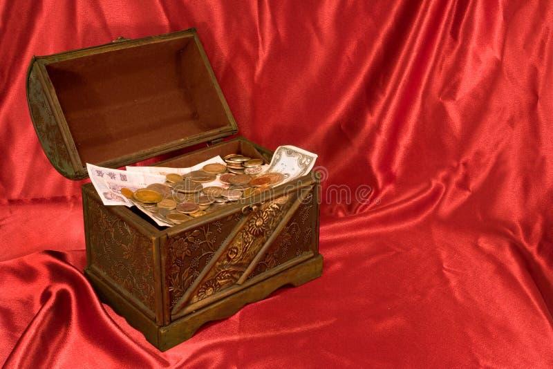 De open Borst van de Schat stock afbeelding