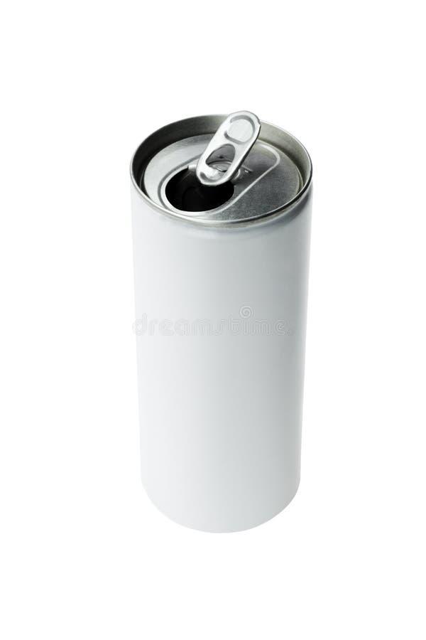 De open Drank van het Aluminium kan stock afbeeldingen