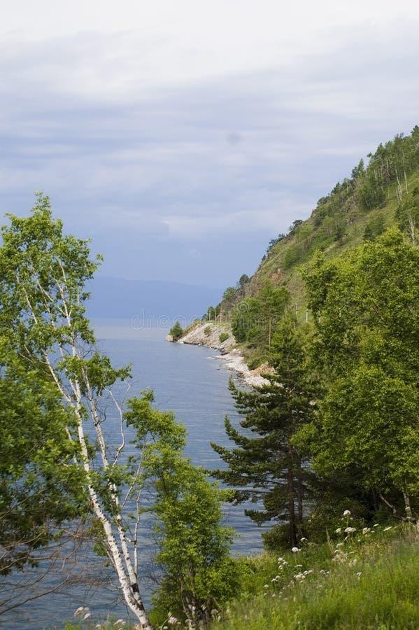 De open plekken van Baikal! royalty-vrije stock afbeelding
