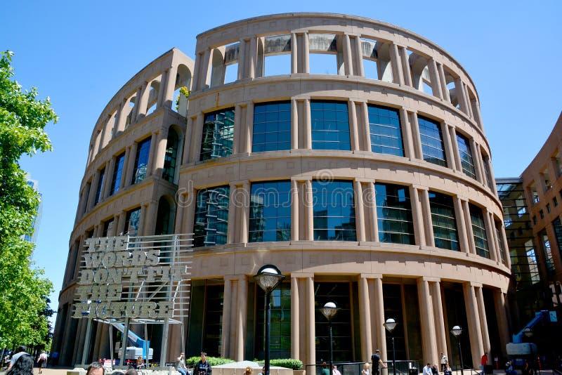 De openbare bibliotheek van Vancouver stock fotografie