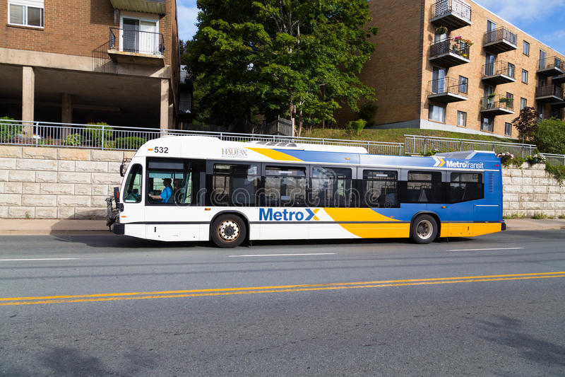 De Openbare Bus van Halifax stock foto