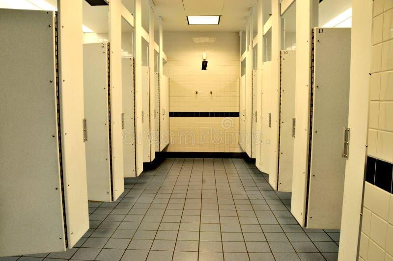 De openbare Faciliteiten van het Toilet stock foto