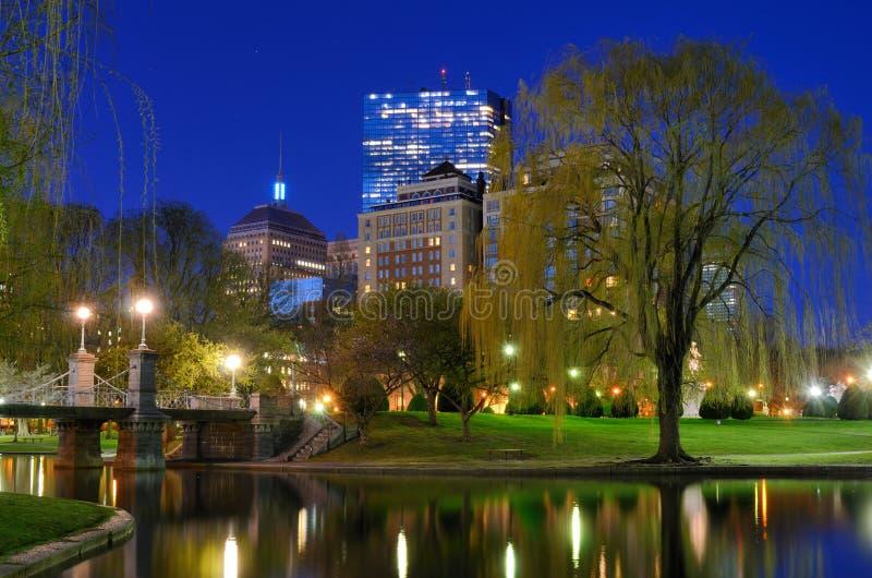 De Openbare Tuinen van Boston royalty-vrije stock afbeeldingen