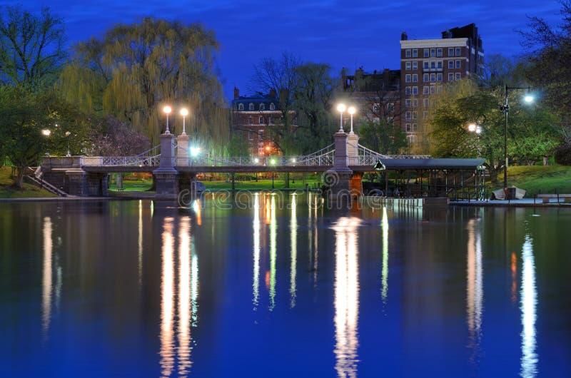 De Openbare Tuinen van Boston stock afbeeldingen