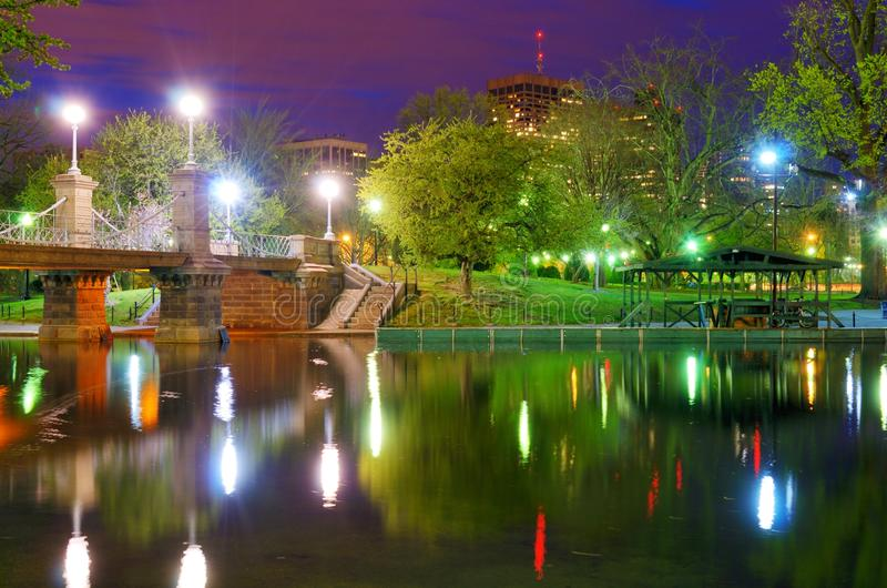 De Openbare Tuinen van Boston stock fotografie