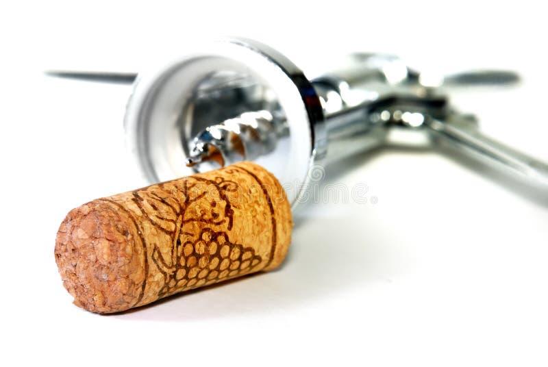 De Opener van de wijn stock afbeelding