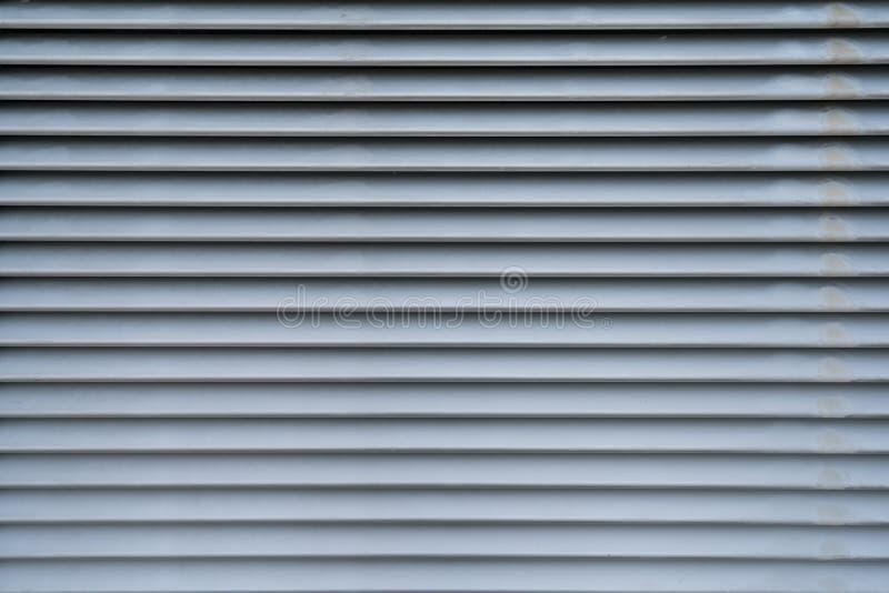 De openings van de achtergrond metaallucht textuur in horizontaal patroon royalty-vrije stock fotografie