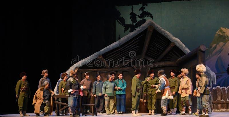 "De Opera die van massa vergadering-Peking Tiger Montain By Strategyâ €  ""Taking royalty-vrije stock foto"