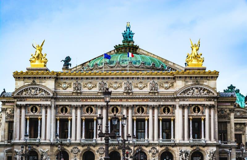 De Opera van Parijs, Garnier Palace royalty-vrije stock afbeelding