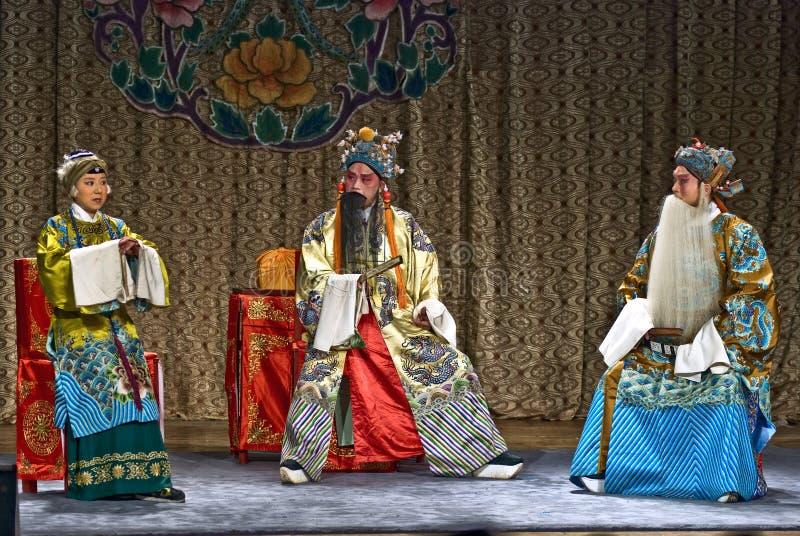 De Opera van Peking stock foto