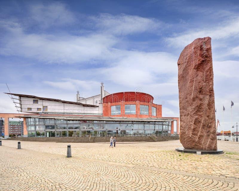 De Operahuis van Gothenburg, Zweden stock foto's