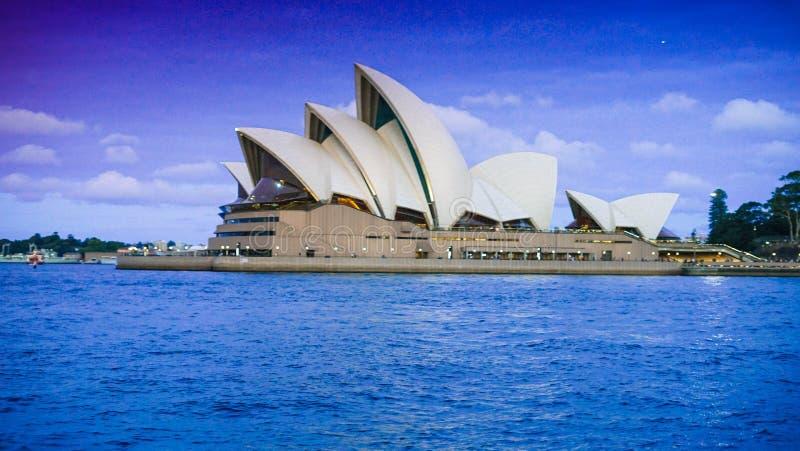 De operahuis van Sidney stock foto's