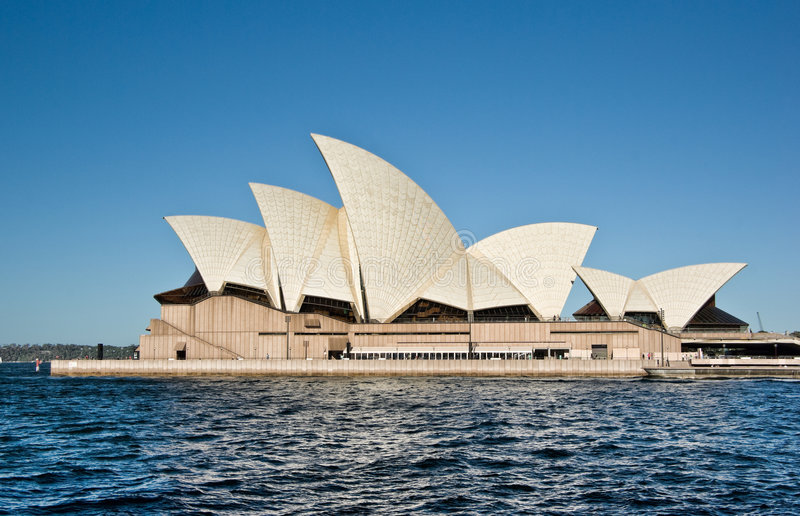 De operahuis van Sydney stock afbeeldingen