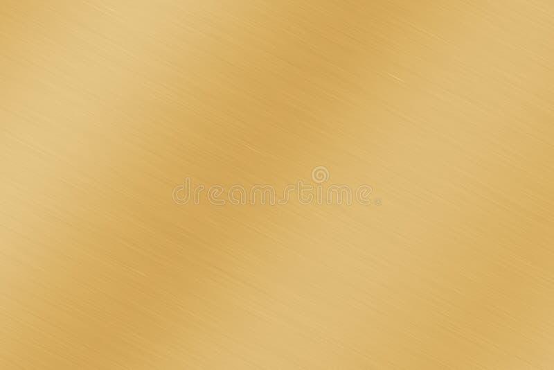 De opgepoetste Gladgemaakte Achtergrond van het Metaal vector illustratie