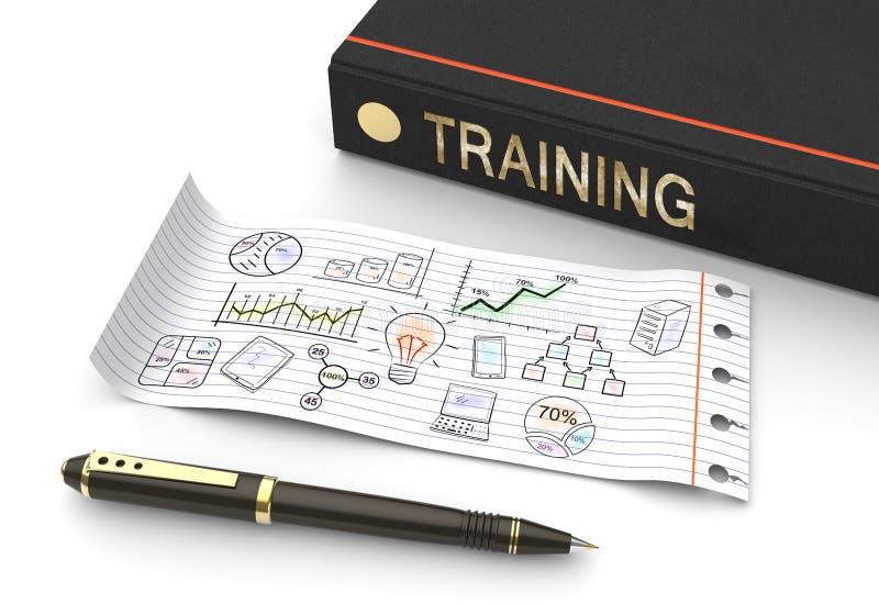 De opleiding en developmen royalty-vrije illustratie