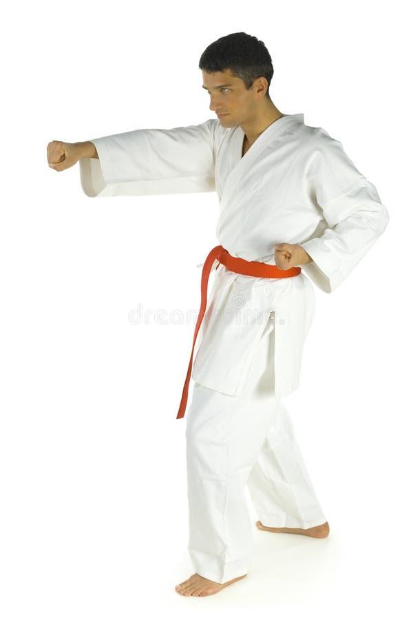 De opleiding van de karate stock foto's