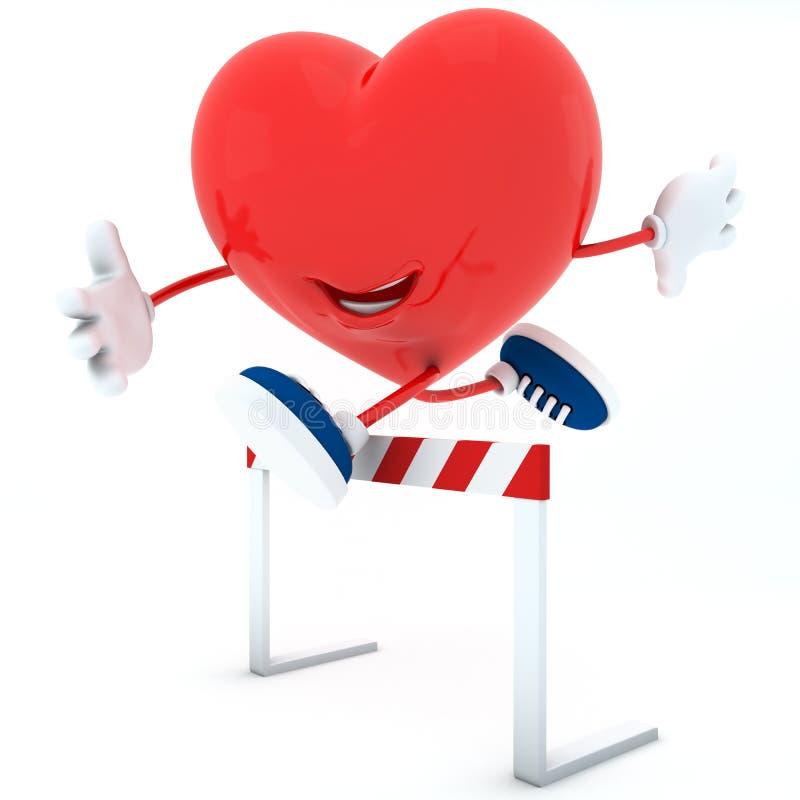 De opleiding van het hart vector illustratie