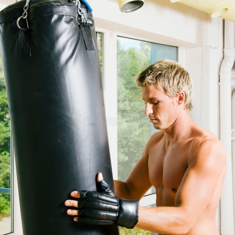 De Opleiding van vechtsporten stock fotografie