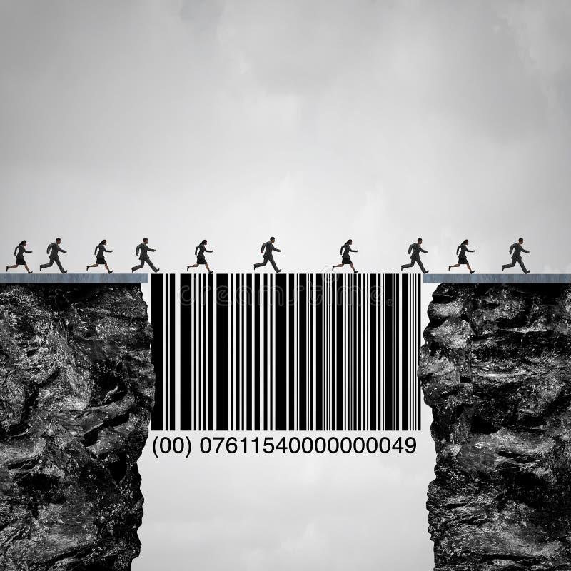 De Oplossing van de consument vector illustratie