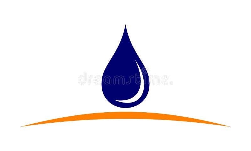 De Oplossingen van het waterondoordringbaar maken stock illustratie