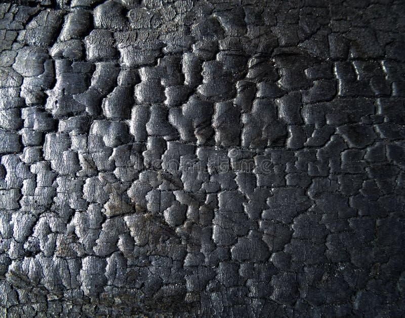 De oppervlakte van de steenkool royalty-vrije stock fotografie