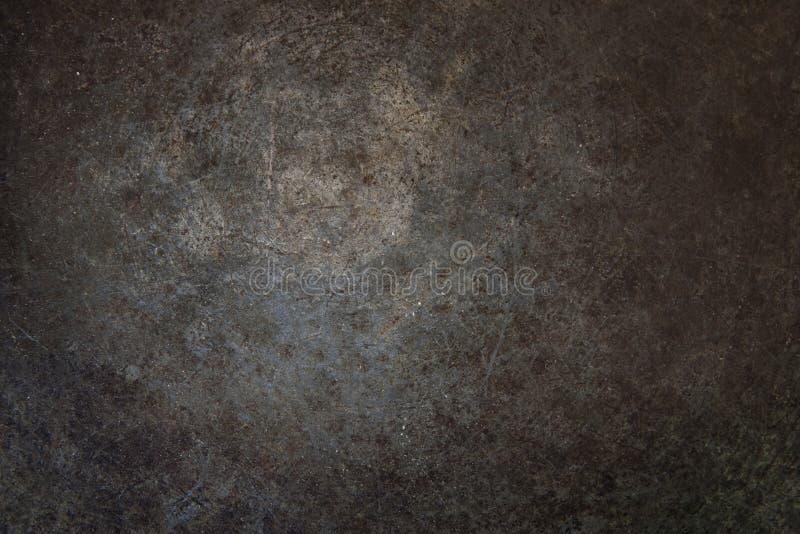 De Oppervlakte van het Metaal van de Roest van Grunge stock foto's