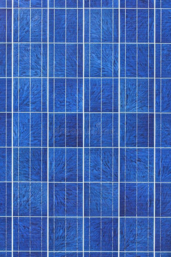 De oppervlakte van het zonnepaneel royalty-vrije stock afbeeldingen