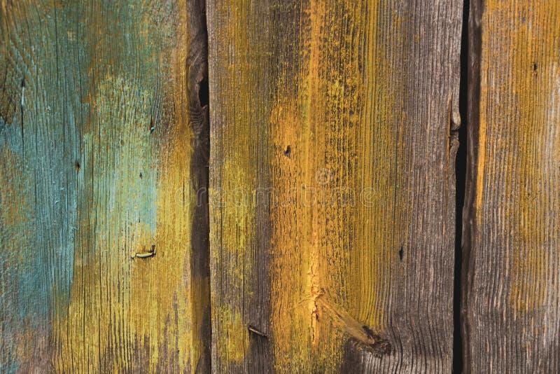 De oppervlakte van de oude ruwe pijnboomplanken royalty-vrije stock afbeelding
