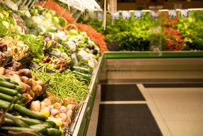 De opslag of de supermarkt van de kruidenierswinkel stock afbeeldingen