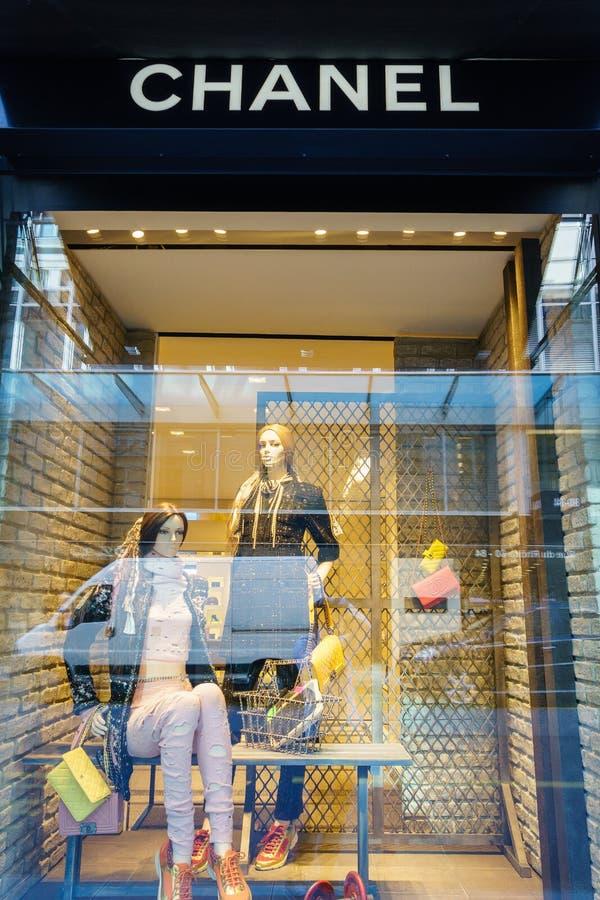 De opslag van Chanel royalty-vrije stock fotografie